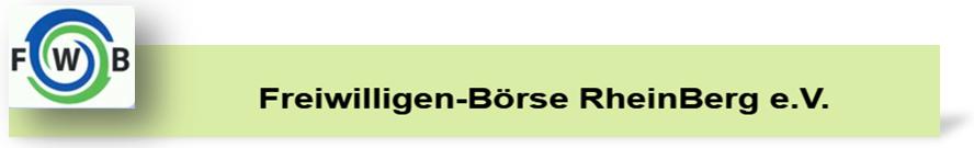 Freiwilligen-Börse RheinBerg e.V.